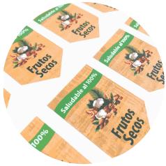 Stickers calidad fotografica alta resolución